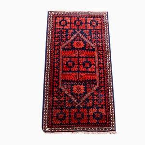 Alfombra turca vintage de lana, años 70
