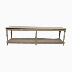 Antique Oak Console Table