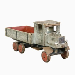 Wooden Pick Up Truck Toy, 1930s
