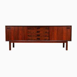 Vintage Danish Rosewood Sideboard from Brouer Møbelfabrik