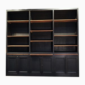 Black Teak Wall Unit, 1970s