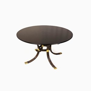 Vintage French Pedestal Table by Maison Jansen, 1970s
