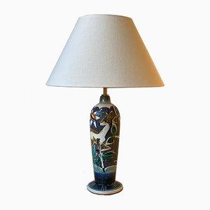 Lampada da tavolo Mid-Century in ceramica di Tilgman Keramik, anni '60