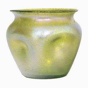 Antike Irisierende Glasvase von Loetz, 1910er