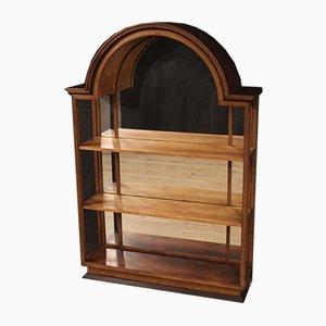 Mueble italiano de nogal, haya y roble, años 60