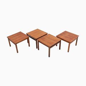 Tavolini da caffè di Cassina, Italia, anni '60, set di 4