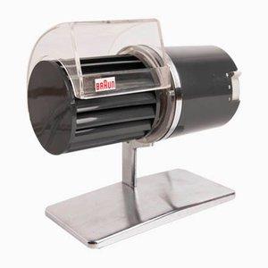 Ventilateur de Bureau Modèle HL-121 par Reinhold Weiss pour Braun, 1970s