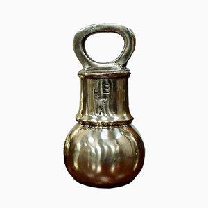 Antique Victorian Brass Bell Weight
