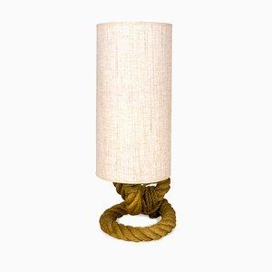 Lámpara de mesa francesa de Adrien Audoux & Frida Minet, años 50