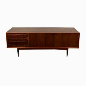 Belgian Model Paola Rosewood Sideboard by Oswald Vermaercke for V Form, 1950s