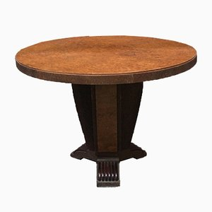 Italian Round Briar Dining Table by Pierluigi Colli, 1940s