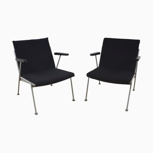 Vintage Model Oase Lounge Chairs by Wim Rietveld for Ahrend De Cirkel, Set of 2
