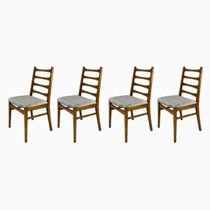 Vintage Beige Dining Chairs, 1970s, Set of 4