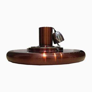 Vintage UFO Saucer Ceiling Lamp