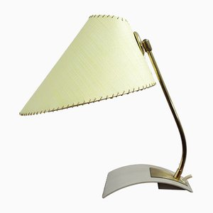 Vintage German Yellow Table Lamp, 1960s