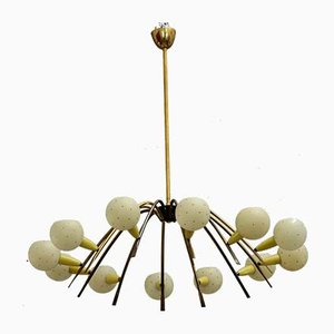 Italian Sputnik Chandelier by Stilnovo, 1950s