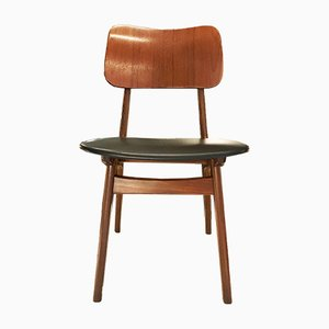 Mid-Century Rosewood Dining Chair by Christensen and Larsen for Ib Kofod Larsen