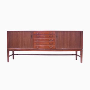 Mahogany Sideboard by Ole Wanscher for A.J. Iversen, 1940s