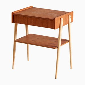 Swedish Nightstands from Carlstrom & Co., 1960s
