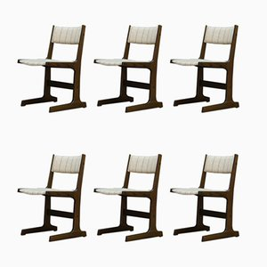Vintage Danish Dining Chairs from Farstrup Møbler, 1960s, Set of 6