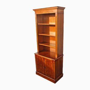 Yew Wood Open Bookshelf, 1960s