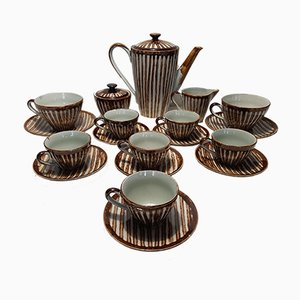 Coffee Set from KG Lunéville Badonviller, 1960s