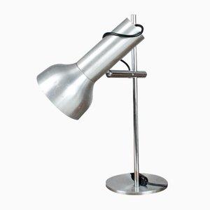Lampe de Bureau Mid-Century en Aluminium Chromé, France