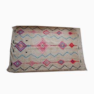 Alfombra bereber vintage de lana, años 80
