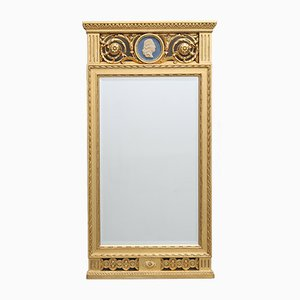Antique Gustavian Mirror