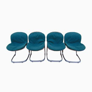 Vintage Model Sabrina Chairs by Gastone Rinaldi, Set of 4