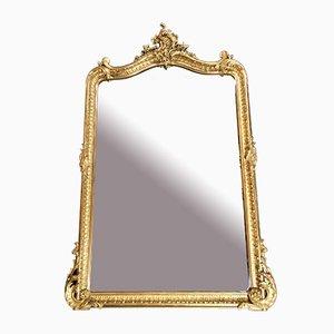 Large Antique Gold Leaf Mirror