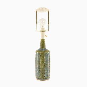 Olive Green and Light Blue Model DL 30 Table Lamp by Per Linnemann-Schmidt for Palshus, 1960s