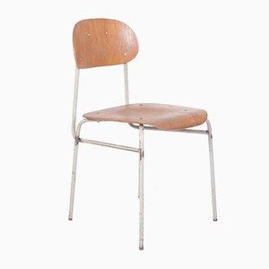 Chaise d'École Industrielle Vintage, 1960s