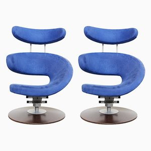 Vintage Sessel & Fußhocker Set von Olav Eldøy für Stokke