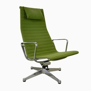 Vintage Model EA 124 Lounge Chair by Charles & Ray Eames for Herman Miller, 1980s