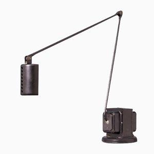 Schwarze Vintage Modell Daphine Tischlampe von Tommaso Cimini für Lumina
