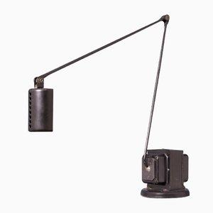 Lampada da tavolo Daphine vintage nera di Tommaso Cimini per Lumina