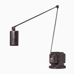 Vintage Black Model Daphine Table Lamp by Tommaso Cimini for Lumina