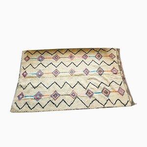 Vintage Wool Berber Carpet, 1980s