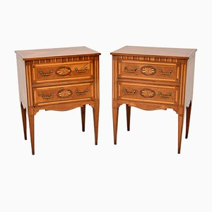 Vintage Neoclassical Style Dressers, 1950s, Set of 2