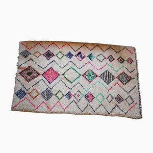 Vintage Wool Berber Carpet, 1970s