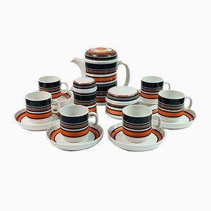 Set da caffè Scandic vintage di Hertha Bengtson per Rosenthal, anni '70