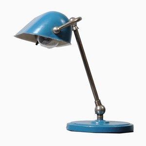 Vintage Bankier Tischlampe, 1930er