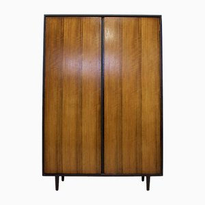 Walnut Wardrobe by John & Sylvia Reid for Stag, 1950s