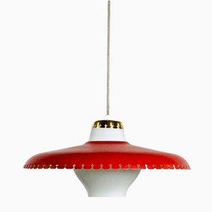 Lampada da soffitto di Bent Karlby per Lyfa, Danimarca, anni '60