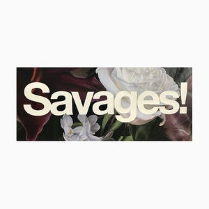 Savages 2015 Kunstedition von Lucus Price