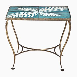Mid-Century Italian Ceramic Side Table