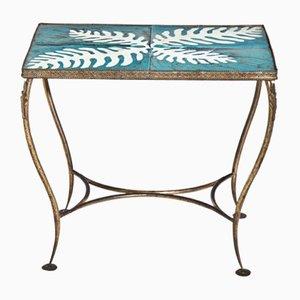 Table d'Appoint Mid-Century en Céramique, Italie