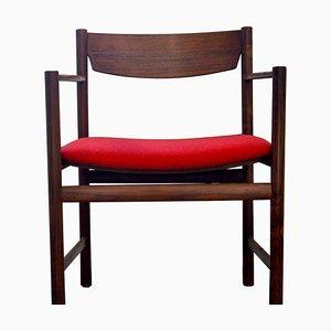 Vintage Beistellstuhl aus Palisander, 1960er