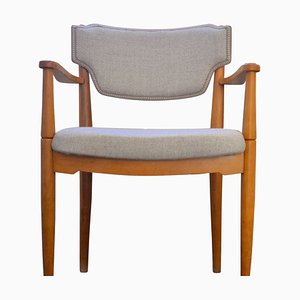 Mid-Century Teak Side Chair, 1960s